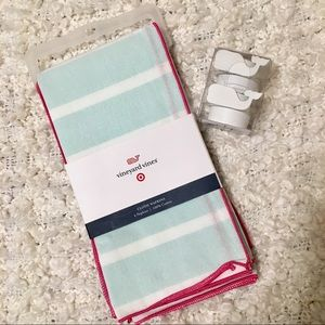 Vineyard Vines Cloth Napkins & Napkin Rings